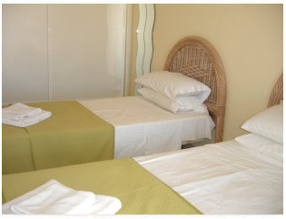 bedroom of the apartment to rent in El Mirador